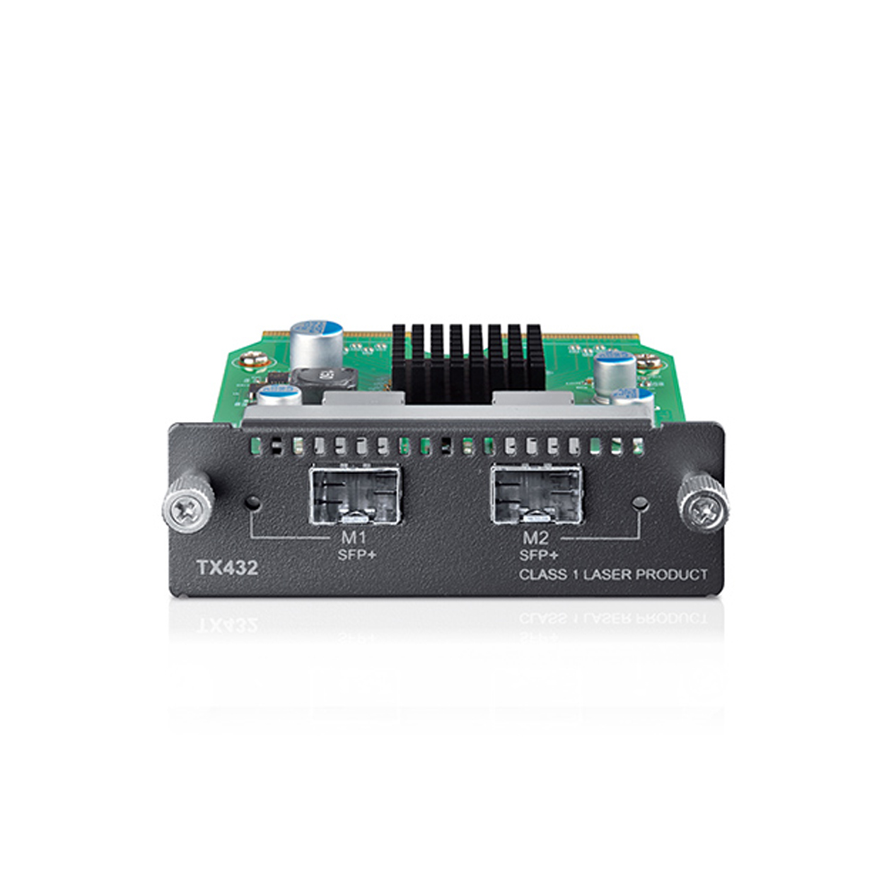 10-Gigabit 2-Port SFP + Module TX432